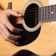 Acoustic guitar - Stok fotoraf