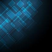 Fondo abstracto con rombo — Vector de stock