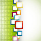Abstracte groene achtergrond — Stockvector