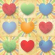 Royalty-Free Stock Vector Image: Hearts pattern