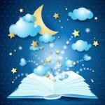 The magic book — Stock Vector
