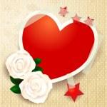 καρδιά φόντο — Διανυσματικό Αρχείο