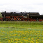 Steam train, Veendam - Stadskanaal, Netherlands — Stock Photo #11282818