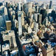View of Manhattan from The Empire State Building, New York City, USA — Stock Photo