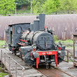 Steam locomotives in depot, Kostolac, Serbia — Stock Photo #13585185