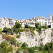 Hanging houses, Cuenca, Castile-La Mancha, Spain - Stock Photo