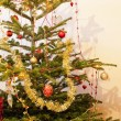 Decorated Christmas tree — Stock Photo #13586154