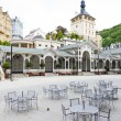 Market Colonnade Karlovy Vary (Carlsbad), Czech Republic - Stock Photo