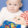 Baby''s portrait — Stock Photo #13588608