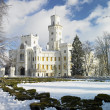 Hluboka castle - Stock Photo