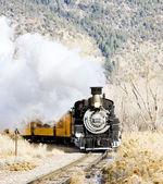 Cumbres and Toltec Narrow Gauge Railroad, Colorado, USA — Stock Photo