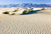 Soba borusu kuyuları kum tepeleri, ölüm vadisi np, kaliforniya, abd — Stok fotoğraf