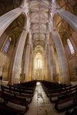 Interiören i santa maria da vitoria kloster batalha, estremadura, portugal — Stockfoto