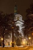 Igreja da assunção, praga, checa república — Fotografia Stock