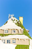 Masarykova Cottage, Orlicke Mountains in winter, Czech Republic — Stock Photo