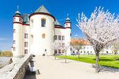 Jardín en litomysl, república checa del monasterio — Foto de Stock