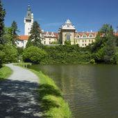 Pruhonice palace, Tjeckien — Stockfoto