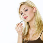 Woman's make up — Stock Photo