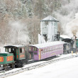 Mount Washington Cog Railway, Bretton Woods, New Hampshire, USA — Foto Stock