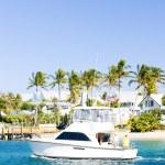 Water transport, Atlantic Ocean, Florida, USA — Stock Photo