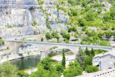 Bridge in Balazuc, Rhone-Alpes, France — Stock Photo