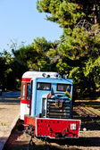 Narrow gauge railway, St-Troyan-Les-Bains, Poitou-Charentes, France — Stock Photo