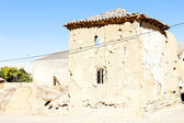 Castle of Belmonte de Campos, Castile and Leon, Spain — Stock Photo