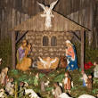 Christmas crib - Stockfoto