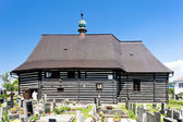 Iglesia de madera en slavonov, República Checa — Foto de Stock