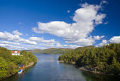 Landscape of Southern Norway — Foto Stock