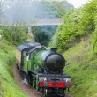Steam train, Bo'Ness   Kinneil Railway, Lothians, Scotland — Stock Photo