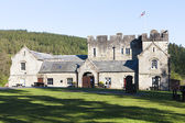 Kielder Castle, Northumberland, England — Stock Photo