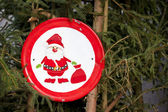 Sign of Santa Claus — Stock Photo