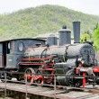 Steam locomotive, Resavica, Serbia - Stock Photo