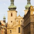 St. Havel Church, Prague, Czech Republic - Stock Photo