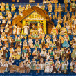 Gingebread crib at Saint Matthew, Prague, Czech Republic — Stock Photo #17841321