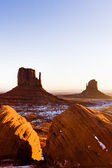 The Mittens, Monument Valley National Park, Utah-Arizona, USA — Stock Photo