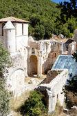 San pedro de arlanza monasterio, castilla y leon, españa — Foto de Stock