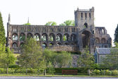Ruins of Jedburgh Abbey, Scottish Borders, Scotland — Stock Photo