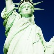 Stock Photo: Detail of Statue of Liberty National Monument, New York, USA