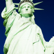 detail der statue of liberty national monument, new york, usa — Stockfoto