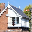 Stock Photo: Railway museum and railway station, Heckington, East Midlands, E