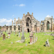 Ruins of Melrose Abbey, Scottish Borders, Scotland — Stock Photo #18516627