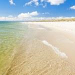 Beach on Hel Peninsula, Pomerania, Poland — Stock Photo #18517777