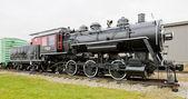 Steam locomotive in Railroad Museum, Gorham, New Hampshire, USA — Stock Photo