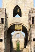 Ruins of Jedburgh Abbey, Scottish Borders, Scotland — Stock Photo