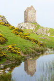 Smailholm Tower near Kelso, Scottish Borders, Scotland — Stock Photo