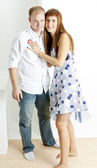 Hugging couple — Stock Photo