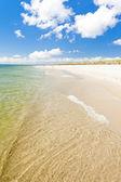 Beach on Hel Peninsula, Pomerania, Poland — Stock Photo