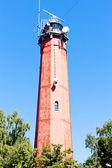 Lighthouse Latia Morska in Hel, Pomerania, Poland — Stock Photo
